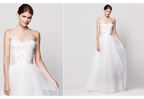 Nordstrom Wedding Suite Bridal Designers 2013 Roses by Reem Acra