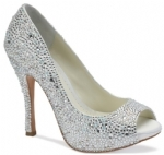 Ivory Benjamin Adams Charley Bridal Shoes