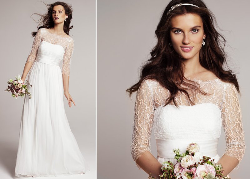 Jenny Yoo wedding dress for Nordstrom