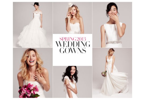 Nordstrom Wedding Suite Bridal Designers Spring 2013