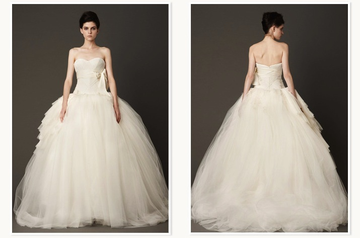 Wang bridal gown from Nordstrom Wedding Suite