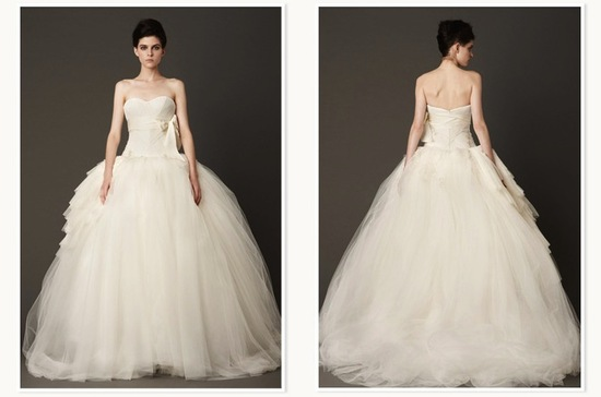Vera Wang bridal gown from Nordstrom Wedding Suite