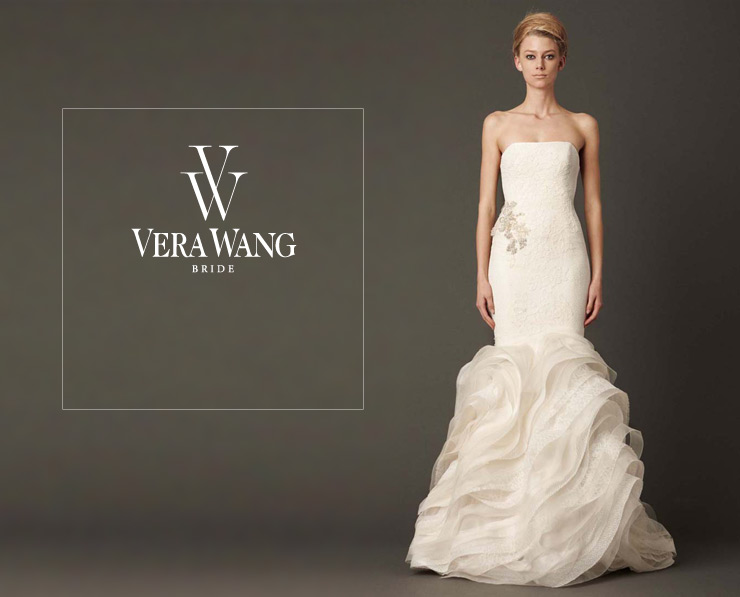 Vera wang bride wedding dress for for Nordstrom dresses for wedding