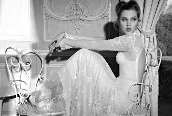 photo of 25 Stunning Sleeved Wedding Gowns