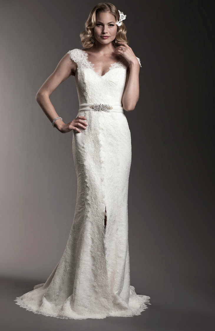 Amy kuschel 2012 wedding dress bridal gowns 6 for Second hand wedding dresses san diego