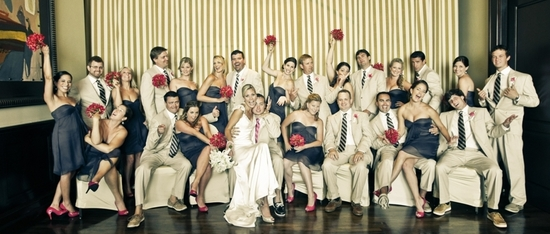 fun wedding bridal party