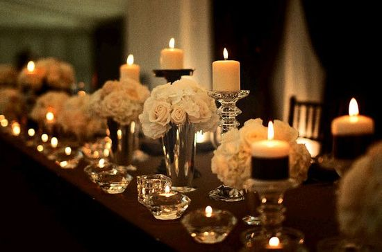 Wedding candle lighting