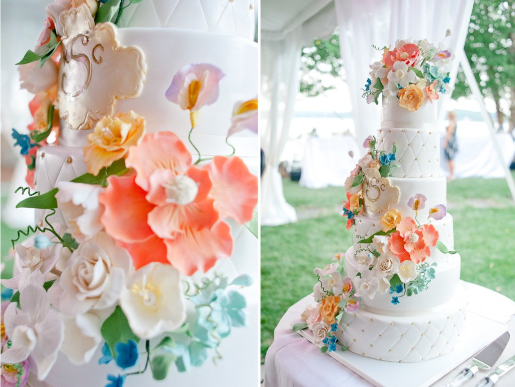 Romantic-wedding-cake-with-cascading-pastel-flowers.full