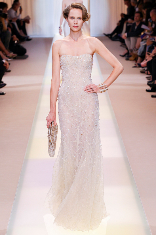 Wedding Dress Inspiration Armani Prive Fall 2013 Couture7