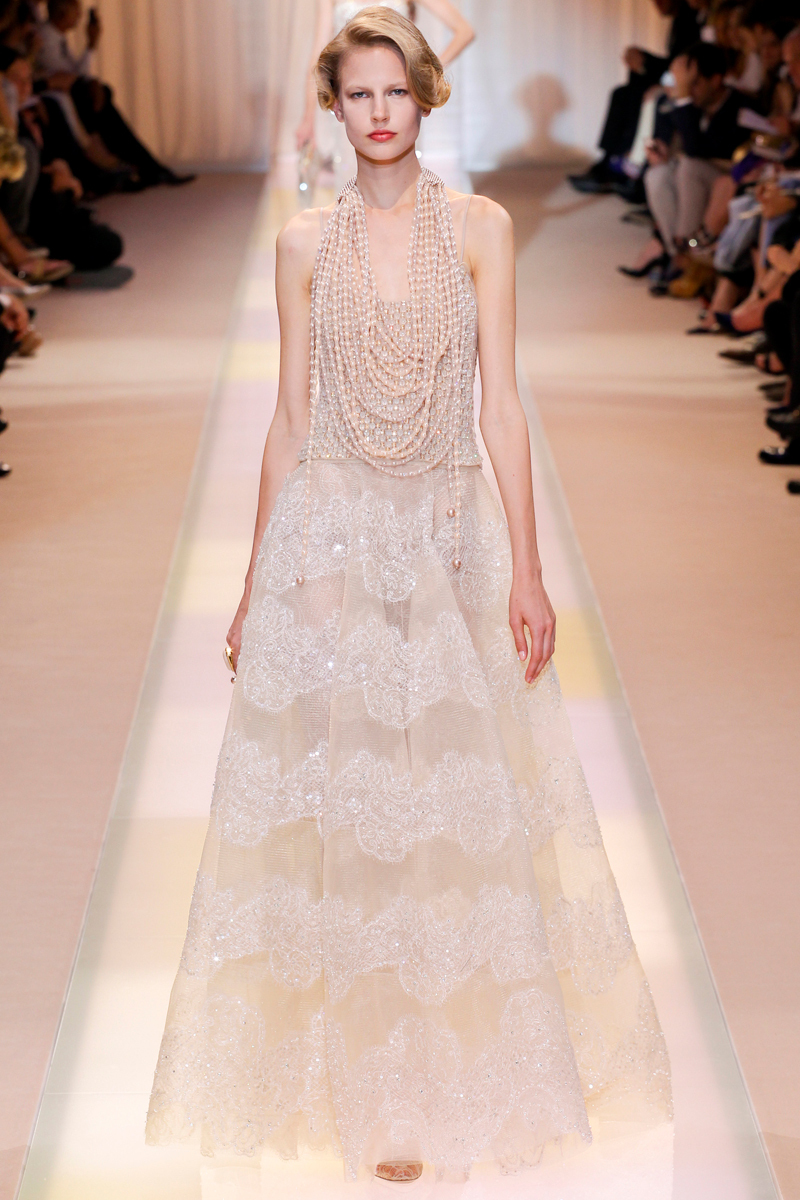 Wedding Dress Inspiration Armani Prive Fall 2013 Couture6