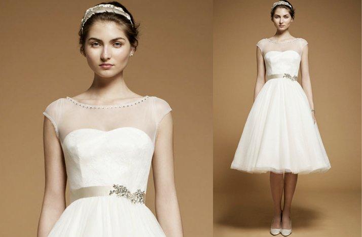 Sheer-cap-sleeve-wedding-reception-dress.full