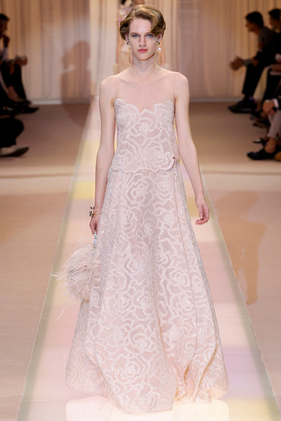 Wedding Dress Inspiration Armani Prive Fall 2013 Couture 1