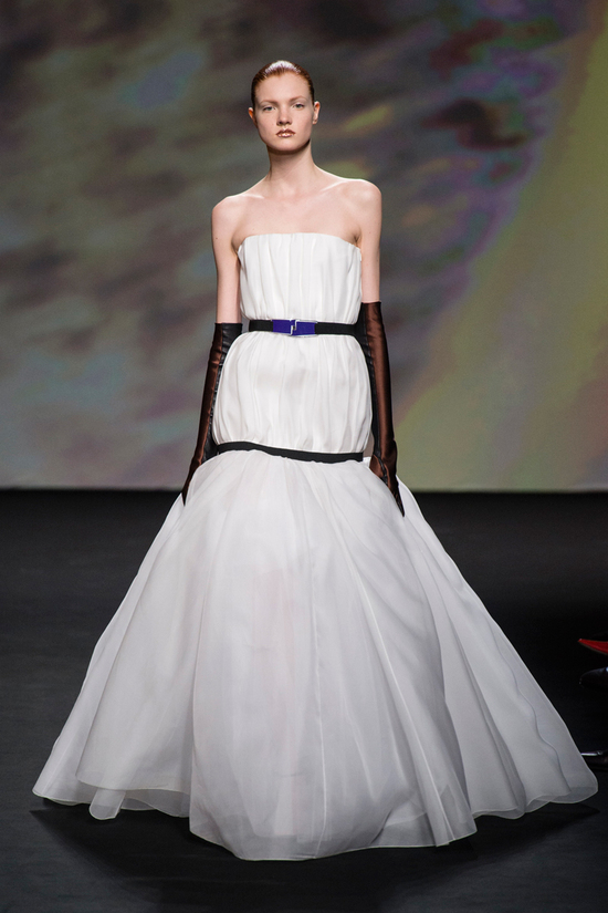 Wedding Dress Inspiration from Christian Dior Fall 2013 Couture 2
