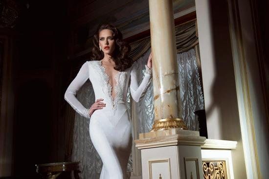 photo of Delightfully Daring Wedding Dresses from Yaki Ravid Bridal