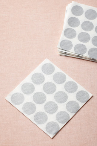 Circles-Meet-a-Square Cocktail Napkins from BHLDN