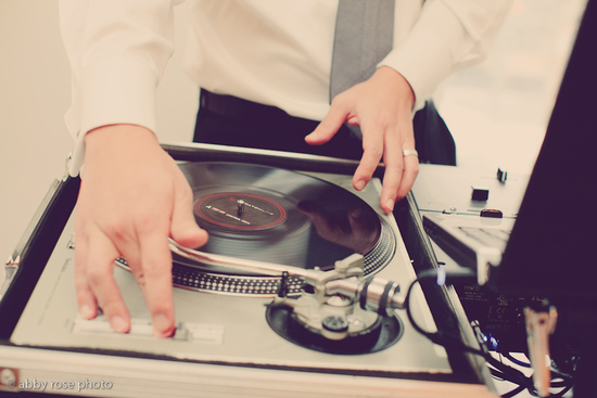 DJ hands photo by Abby Rose