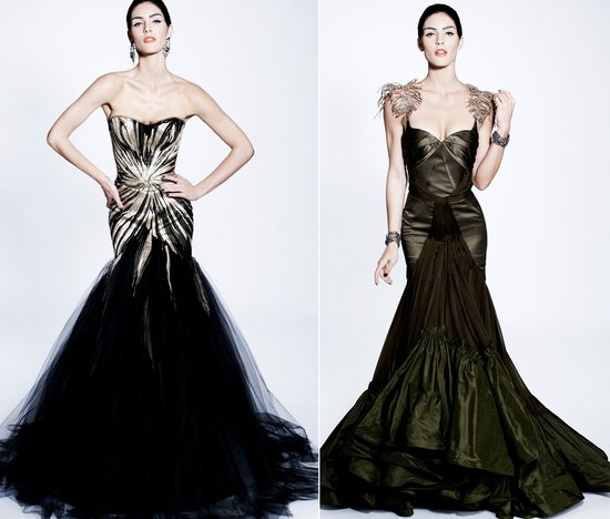 zac posen wedding dress inspiration mermaids