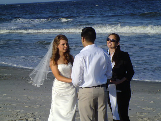 Beach Wedding Amelia island FL