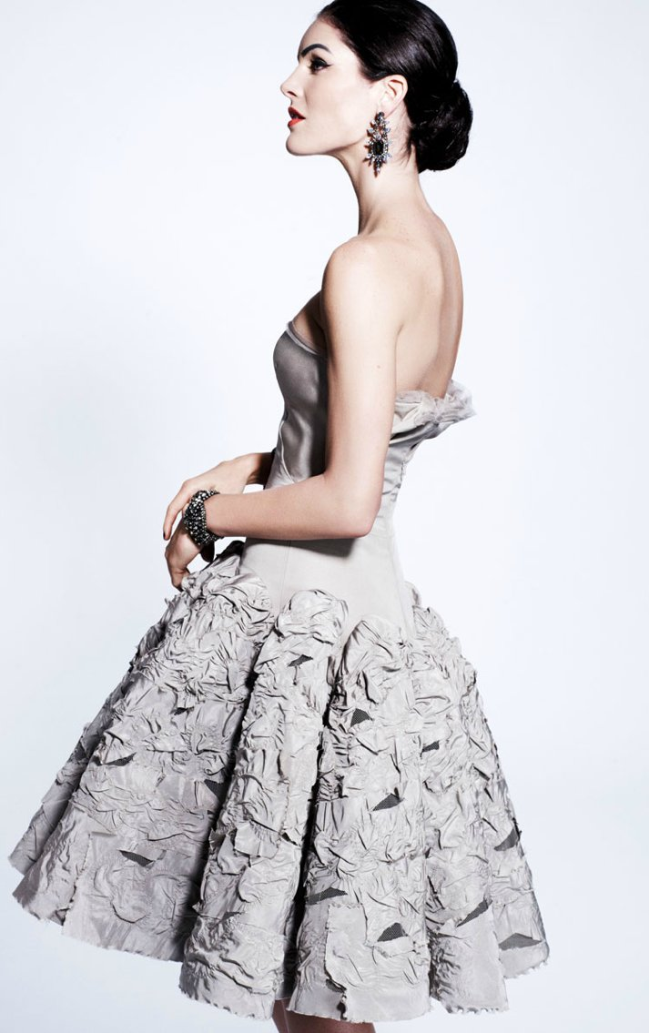 zac posen wedding dress inspiration pre fall 2012 1