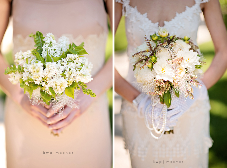 Vintage Wedding Style Photography Bridal Bouquet