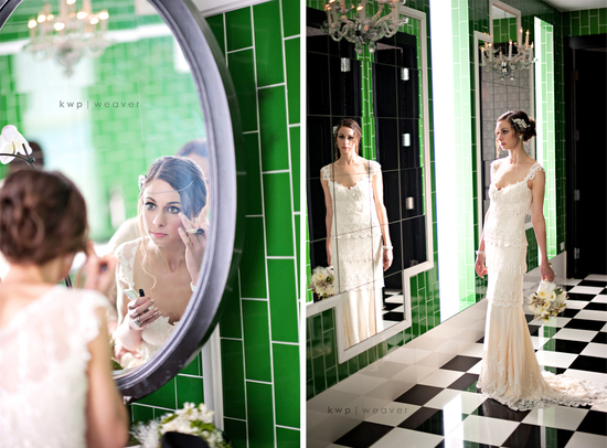 photo of OMG this Retro Glam Wedding is AMAAAAZing!