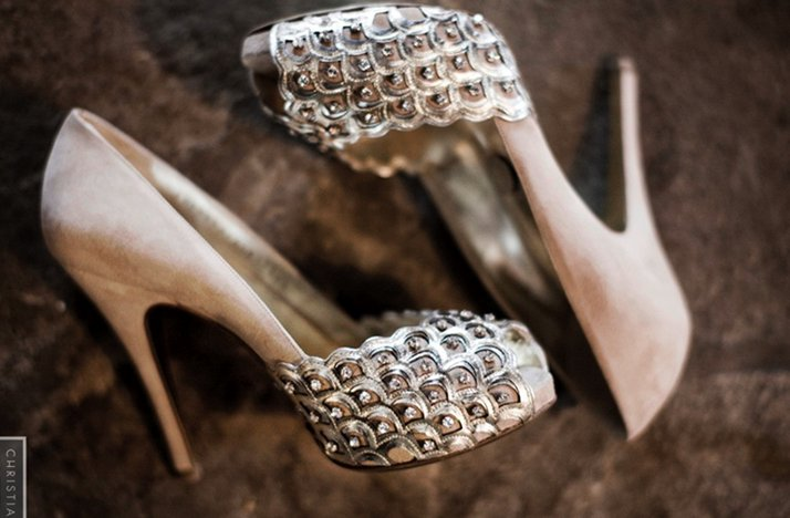 studded platform wedding shoes