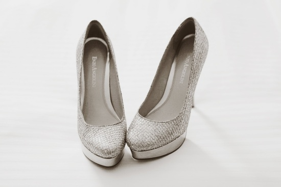 silver platform wedding shoes