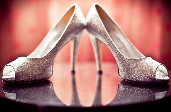 photo of Sparkle Down the Aisle Wedding Shoes
