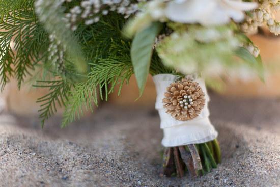 photo of Winter Wedding Elopement on the Beach