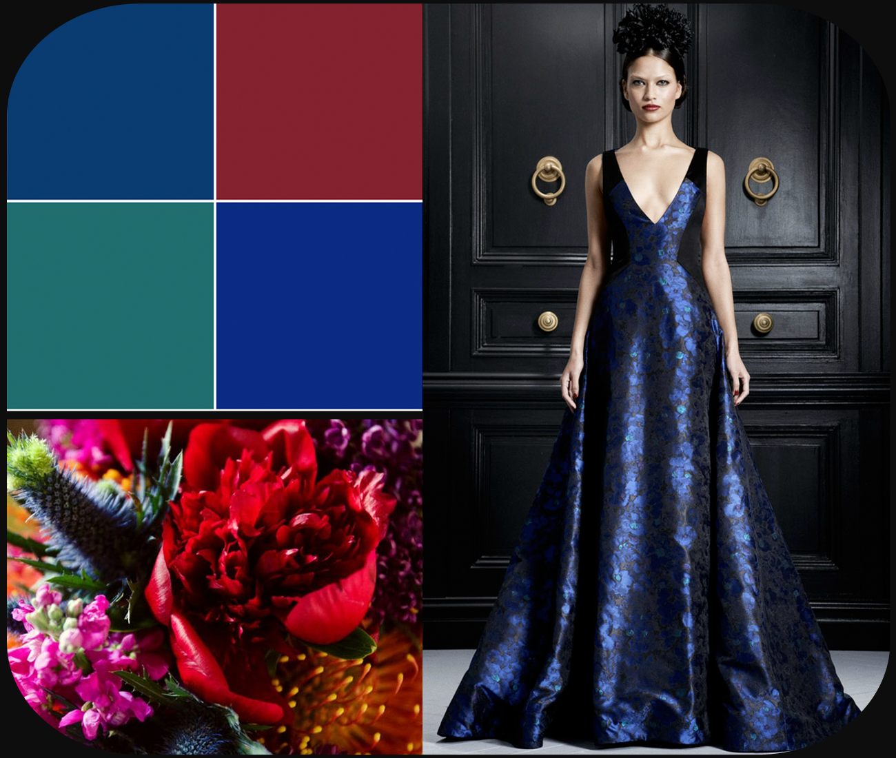 Rich jewel tones wedding color palette - Jewel tones color palette ...