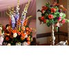 Tropical-wedding-flowers-dramatic-reception-centerpieces-orange-purple.square