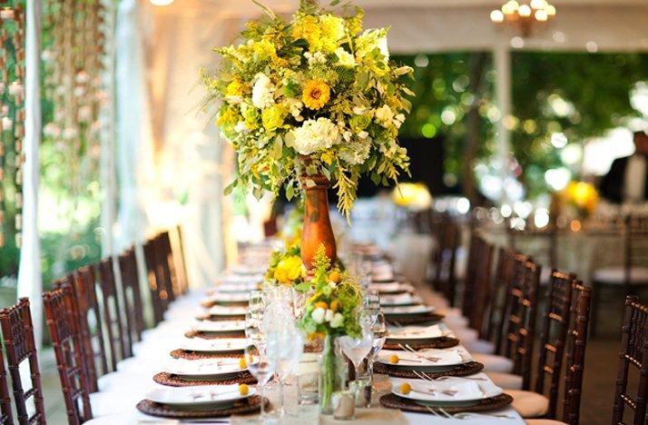 Bright-yellow-wedding-flowers-reception-centerpiece.full
