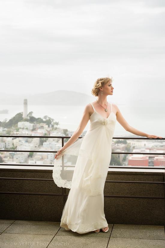 photo of Wedding Style Inspiration: Art Deco Meets City Modern Chic