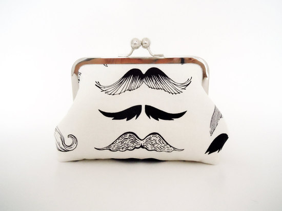 hipster bridal clutch