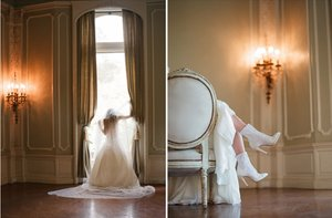 photo of Bohemian Romance Bridal Gowns by Delphine Manivet