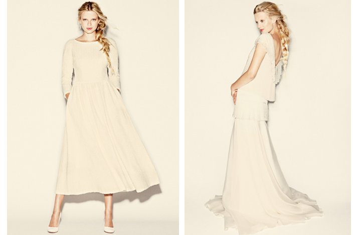 delphine manifet 2012 wedding dresses boho bridal gown 8