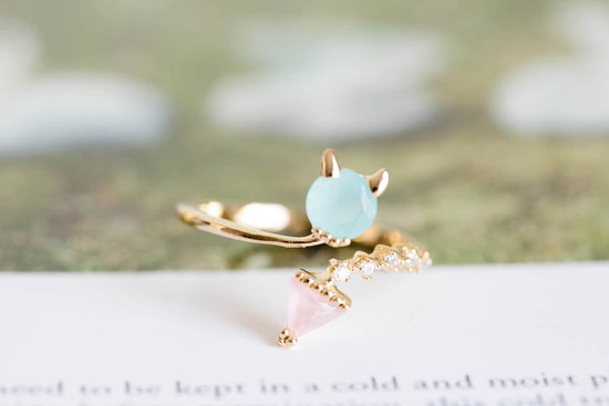 Baby Devil ring for stylish bridesmaids
