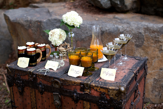 Sweets table for harry potter wedding