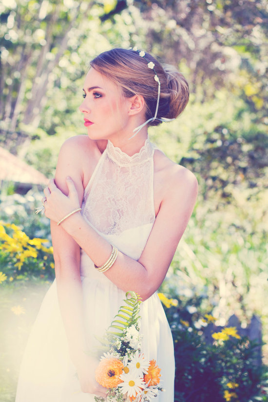 photo of wedding dress halter grace loves lace 2