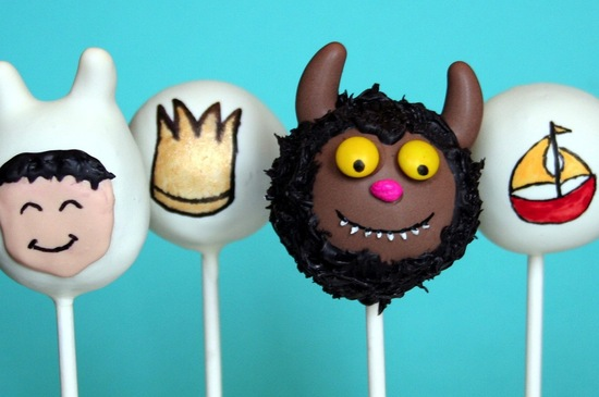 where the wild things are wedding cake pops