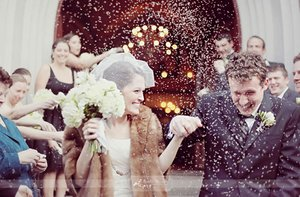 photo of Vintage Glam Wedding Style
