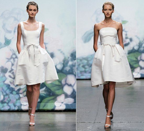 little white dresses 2012 monique lhuillier bridal gowns