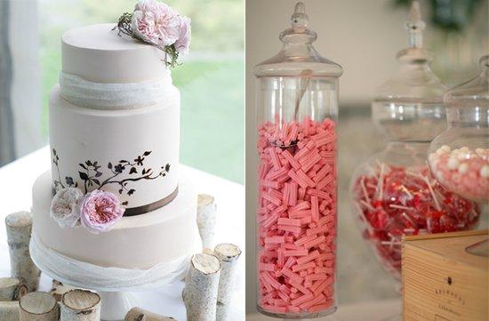 photo of au wedding photograph wedding cake dessert bar