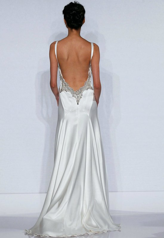 photo of Stunning Statement Backs for 2012 Brides