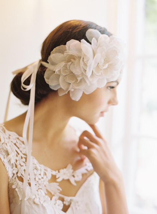 Silk Flower Hair Accessory