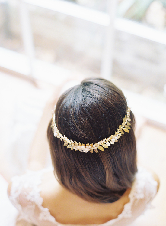 Gold Branch Hair Accessory