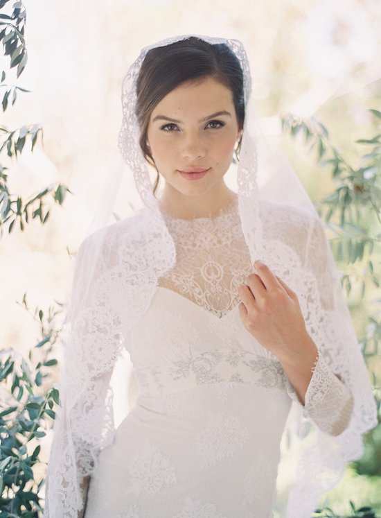 Lovely Lace Veil