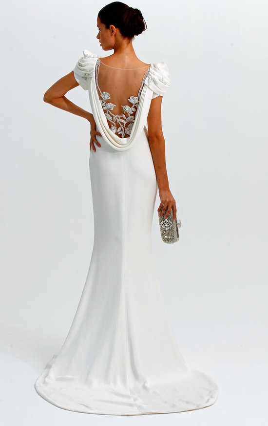 statement backs 2012 wedding dress trends marchesa 2