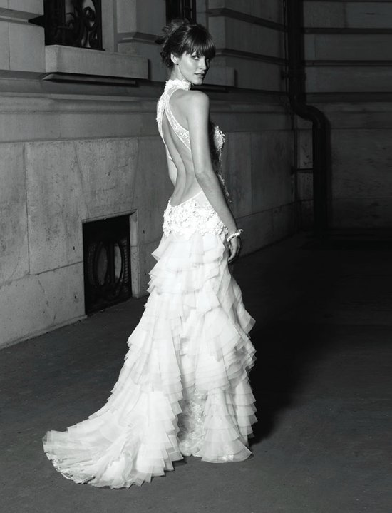 statement backs 2012 wedding dress trends 2