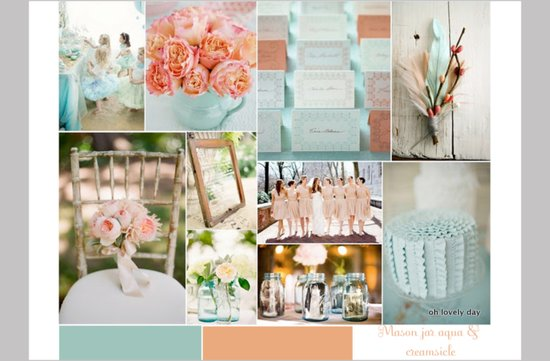 photo of Favorite Color Palettes for Your Vintage Wedding